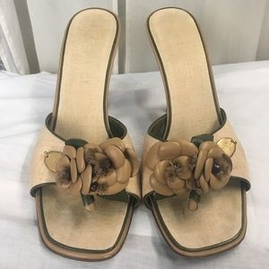 CHANEL Shoes - Light brown Chanel sandals